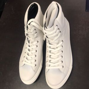 Kenneth Cole reaction white high tops